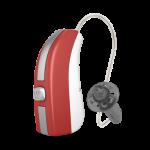 Widex Evoke Fusion 2 (RITE) Spor Kırmızı Rengi