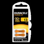 Duracell EasyTab 13 Numara İşitme Cihazı Pili 6'lı Paket