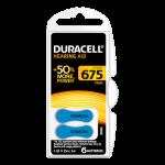 Duracell EasyTab 675 Numara İşitme Cihazı Pili 6'lı Paket