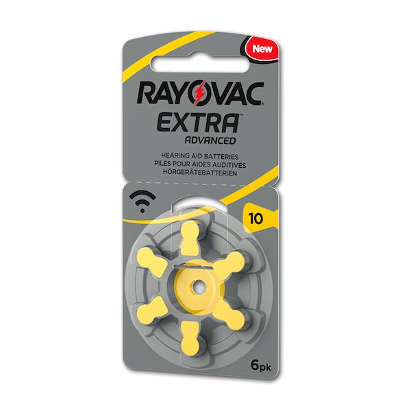 Rayovac Extra Advanced 10 Numara İşitme Cihazı Pili 6'lı Paket