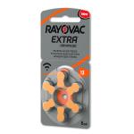 Rayovac Extra Advanced 13 Numara İşitme Cihazı Pili 6'lı Paket