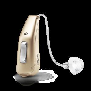 Signia Pure 13 Kulak İçi Ahizeli (RITE) İşitme Cihazı - Altın Sarı Rengi