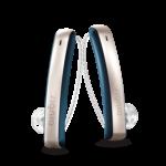 Signia Styletto Connect Kulak İçi Ahizeli (RITE) İşitme Cihazı - Kozmik Mavi & Rose Gold Rengi